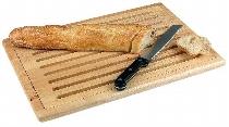Brotschneide-Set Holz 47,5 x 32 cm