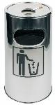 Standascher und Abfalleimer