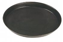 Bierglasträger RUTSCHFEST oval 29 x 21 cm anthrazit