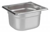 Buffet-Box FRAMES rund Edelstahl L
