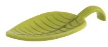 Fingerfood-Löffel -LEAF- grün, Melamin