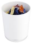 Tischreste- / Besteckbehälter weiß