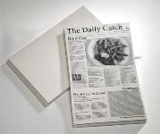 Wachspapier -SNACK HOLDER- Motiv Zeitung 500er Pack
