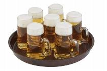 Bierglasträger Ø 31 cm hoher Rand