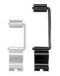 Schilderhalter FLEX CLIP 9 ,5 cm schwarz 10er Pack