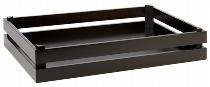 Holzbox -SUPERBOX- GN 1/1 schwarz