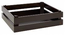 Holzbox -SUPERBOX- GN 1/2 schwarz