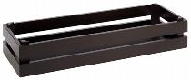 Holzbox -SUPERBOX- GN 2/4 schwarz