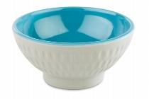 Schale -ASIA PLUS- Ø 7,5 cm blau/grau