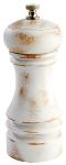 Pfeffermühle -PROFESSIONAL- 15 cm vintage weiß