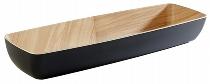 GN 2/4 Schale FRIDA 53 x 16,2 cm schwarz