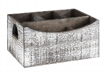 Table Caddy VINTAGE 22 x 15,5 cm, Höhe 11,5 cm