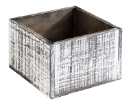 Table Caddy VINTAGE 15 x 15 cm, Höhe 10 cm