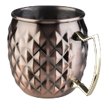 Becher MOSCOW MULE Antik-Kupfer-Look
