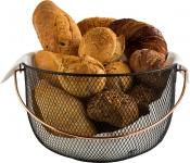 Brot und Obstkorb Ø 30 cm, H: 19 cm