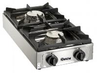 Gas-Tischkocher 2-flammig
