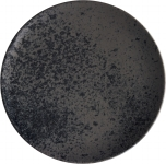 Teller flach coup 28cm Black, Sandstone