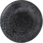 Teller tief coup 24cm Black, Sandstone