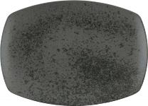 Platte coup rechteckig coup 32 x 23 cm BLACK, Sandstone