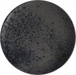 Teller flach coup 20cm BLACK ,Sandstone