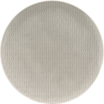 Teller flach coup relief 26 cm glow gray, Scope