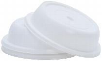 Tellerglocke 27 cm  weiß