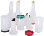 Getränkemix-und Vorratsbehälter Deckel braun
