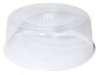 Tortenhaube hoch transparent 33 cm