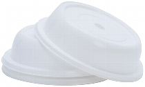 Tellerglocke 31 cm  weiß