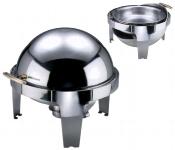 Chafing Dish mit Roll Top mit Brennbehälter