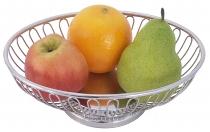 Brot- und Obstkorb oval  29 x 19 cm