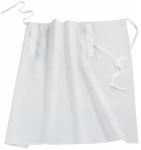 Bistro-Schürze/Vorbinder mit Taschendurchgriff weiß