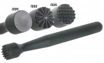 Barstößel schwarz radial