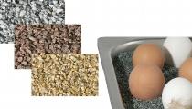 Granitsplitt 7 kg hellgrau