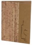 Weinkarte DIN A4 Korkimitat