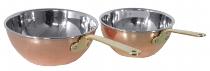 Wok aus Kupfer 14 cm