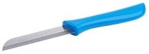 Küchenmesser mit blauem Griff