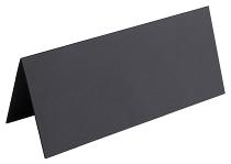 Aufsteller neutral schwarz 12er Pack