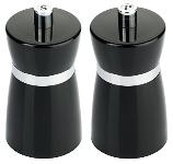 Salz-/Pfeffermühlen-Set schwarz