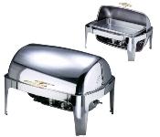 Chafing Dish mit Roll Top elektrisch beheizt regelbar