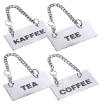 Schild für Kannen COFFEE