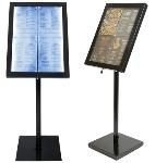 LED Speisekarten Display 4xA4