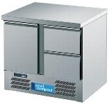 Kühltisch MAGNOS mit Flügeltür und 2 Schubladen