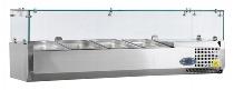 COOL Umluft-Gewerbekühlschrank RCX 400 INOX