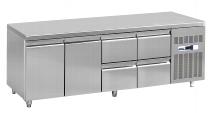 COOL Umluft-Gewerbetiefkühlschrank TKU 710 GL