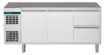 Kühltisch 2 Türen 2 Schubladen 1/2  CLM 650 3-7011