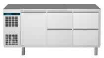 Kühltisch 1 Tür 4 Schubladen 1/2 CLM 650 3-7031