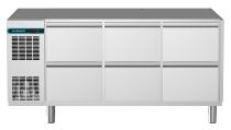 Kühltisch 6 Schubladen 1/2 CLM 650 3-7051