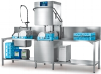 Geschirrspülmaschine PROFI AMXRS-10B mit integrierter Wasserenthärtung