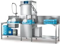 Geschirrspülmaschine PROFI AMXXRSW-10B mit integrierter Wasserenthärtung